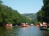 thumbnail - Schlauchboottour auf der Saale unterhalb der Leuchtenburg