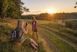thumbnail - Sonnenuntergang in den Wacholderheiden