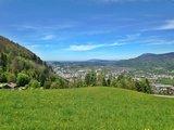 thumbnail - Hallein mit Blick Richtung Salzburg