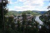 thumbnail - Aussicht von der Felsenquelle auf die Stadt Eberbach
