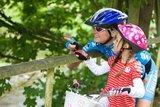 thumbnail - Vor allem kleinere Radfahrer lassen sich bestimmt von dieser Radtour begeistern.