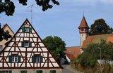 thumbnail - Kirche mit Fachwerk-Turm in Penzenhofen
