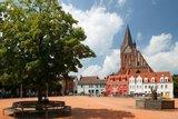 thumbnail - Am Ziel: Der Marktplatz in Barth