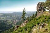 thumbnail - Blick vom Kachelofen Oberschönau, Thüringer Wald