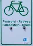 thumbnail - Markierung Festspiel-Radweg