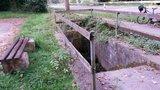thumbnail - Quelle mit Rastplatz kurz vor/hinter Olsbrücken (herrlich kaltes Wasser)
