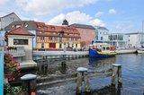 thumbnail - Malerische Idylle - Das alte Bollwerk im Stadthafen von Ueckermünde