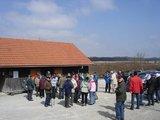 thumbnail - Start der Wandergruppe an der Grillhütte Krailshausen