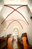 thumbnail - Kreuzgewölbe in der Schlosskapelle - Schloss Wespenstein