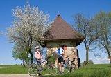 thumbnail - Radfahrer entlang des Festspiel-Radweges