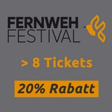 thumbnail - Fernweh Festival 8 - 19 Vorträge 20% Rabatt
