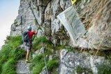 thumbnail - Am Einstige zum Pidinger Klettersteig