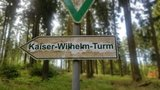 thumbnail - Abzweig zum Kaiser-Wilhelm-Turm auf dem höchsten Berg der Eifel die Hohe Acht