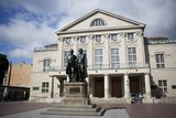 thumbnail - Theaterplatz mit Denkmal des Dichterpaares - Weimar