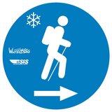 thumbnail - Wegkennzeichen Premium Winterwanderweg