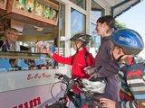 thumbnail - Fahrrad fahren auf der Kinderland Trekking-Radroute