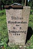 thumbnail - Station Hirschenstein Triangulationssäule