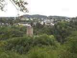 thumbnail - Blick vom Belvedere auf Oberburg und Manderscheid