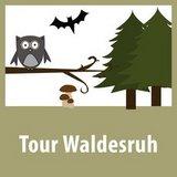 thumbnail - Markierung Tour Waldesruh