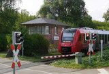thumbnail - Ehemaliges Stellwerk Freinsheim in Bahnhofsnähe