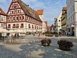 thumbnail - Schleifenroute - Nördlingen Kirchplatz und Altdtadt