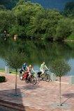 thumbnail - Freudenberg - Radfahrer an der Mainpromenade