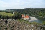 thumbnail - Donauroute - Blick vom Felskopf auf das Kloster Weltenburg