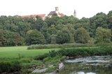 thumbnail - Stadtturm und Stadtkirche vom Eichenauer Wehr aus