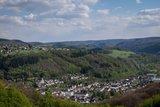 thumbnail - Ausblick auf Waldbreitbach - im Hintergrund die Türme des Klosters