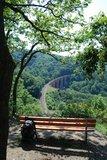 thumbnail - Blick auf das Hubertus Viadukt der Hunsrückbahn