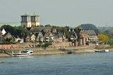 thumbnail - Stadtansicht Rees vom Rhein