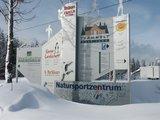 thumbnail - Natursportzentrum Schild Winter