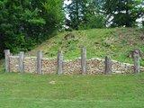 thumbnail - frühkeltische Mauerrekonstruktion auf dem Michelsberg in Kelheim