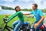 thumbnail - Fahrradfahrer am Vechtesee