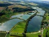 thumbnail - Luftbild Zielfinger Seen