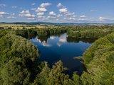 thumbnail - Blick auf den Oderparksee in Hattorf am Harz