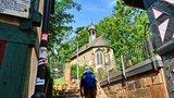 thumbnail - Start in Marburg, hinauf zum