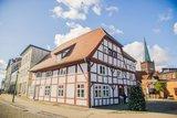 thumbnail - Der Markt in Bergen mit dem historischen Benedixhaus