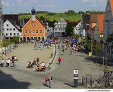 thumbnail - Blick von der Basilika auf den Ottobeurer Marktplatz