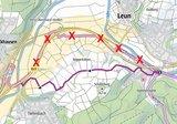 thumbnail - Umleitung Lahnradweg von Leun bis Tiefenbach