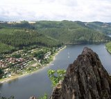 thumbnail - Blick auf den Campingplatz Hopfenmühle