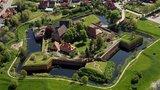 thumbnail - Die gut erhaltene Wehranlage der Festung in Dömitz