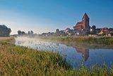 thumbnail - Von der Naturlandschaft rund um die Trebel hat man einen wunderbaren Ausblick auf die Stadt Tribsees.