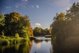 thumbnail - Der Schwanenteich im Schlosspark Putbus