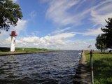 thumbnail - Ziel der 14 Kilometer langen Kanutour ist die Lagunenstadt Uckermünde.