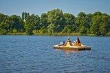 thumbnail - Tretboot auf dem Vechtesee