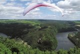 thumbnail - Paragliding am Thüringer Meer