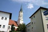 thumbnail - Zurück am Ausgangspunkt: die Kirche in Egglham.