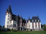 thumbnail - Der Baustil von Schloss Klink erinnert an die Schlösser der Loire.