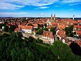 thumbnail - Blick auf die historische Altstadt - Rothenburg